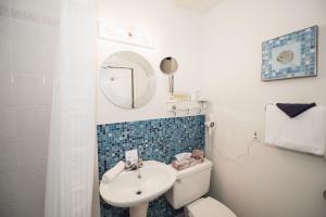 Salle de bains dans l'établissement Manoir Sherbrooke