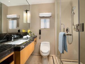 A bathroom at C&D Hotel,Xiamen