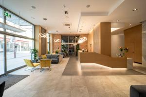 The lobby or reception area at Korona Hotel Wroclaw Market Square