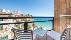 A balcony or terrace at Hotel Be Live Adults Only Marivent