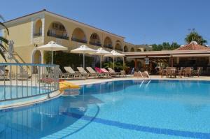 The swimming pool at or near Konstantina Apartments