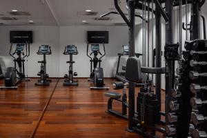Palestra o centro fitness di COSMOPOLITAN Hotel Prague