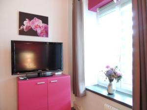 TV/Unterhaltungsangebot in der Unterkunft Hotel de la Gare