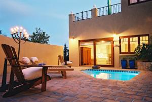 The swimming pool at or near Lavender Manor Guest Lodge