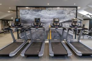 The fitness center and/or fitness facilities at Ardoe House Hotel & Spa