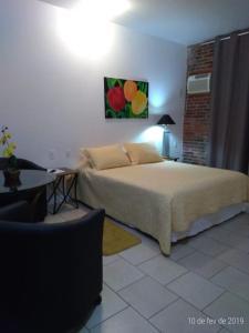 Cama ou camas em um quarto em Hotel Spazio