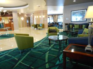 The lounge or bar area at SpringHill Suites Morgantown
