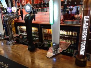 The lounge or bar area at Hanover Hotel & McCartney's Bar