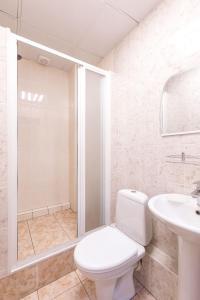 A bathroom at Taiga Nsk
