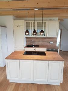Kuhinja oz. manjša kuhinja v nastanitvi Apartments Maria