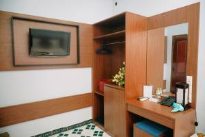 TV/trung tâm giải trí tại Dai A Hotel