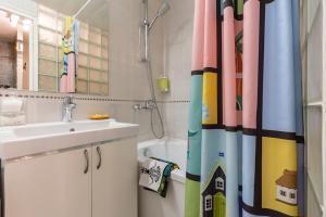 Ванная комната в Студия на набережной Мойки 40