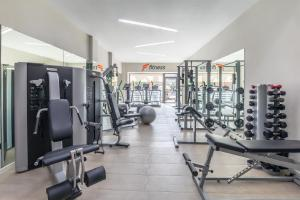 The fitness centre and/or fitness facilities at Barceló Corralejo Bay - Adults Only