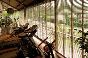 Gimnasio o instalaciones de fitness de A Quinta Da Auga Hotel Spa Relais & Chateaux