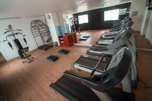 The fitness centre and/or fitness facilities at Costa del Sol Wyndham Chiclayo