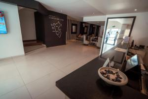 The lobby or reception area at Costa del Sol Wyndham Chiclayo