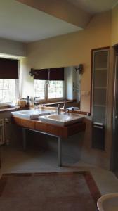 Łazienka w obiekcie Kaszubiana direkt in der Natur