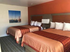 Cama o camas de una habitación en Presidio Parkway Inn