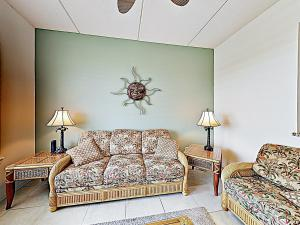 A seating area at New Listing! Modern Beach Condo With Infinity Pool Condo