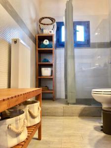 Ένα μπάνιο στο Villa Cavour