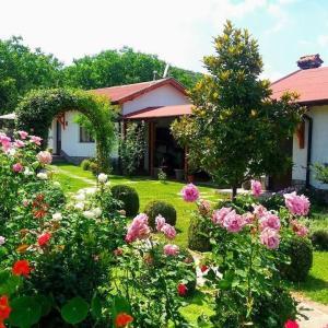Градина пред Guest House Raiski Kаt