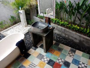 Barbecuefaciliteiten beschikbaar voor gasten van de homestay