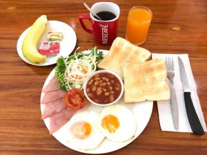 Breakfast options available to guests at Budchui Village2