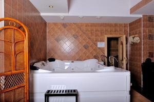 Ванная комната в Гостиничный комплекс Бумеранг