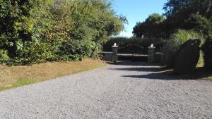 A garden outside 1 of 3 superb gites with pool in the Mayenne area.
