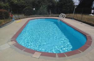 The swimming pool at or near 1 of 3 superb gites with pool in the Mayenne area.