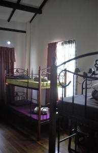 A bunk bed or bunk beds in a room at Great Shanghai Guesthouse