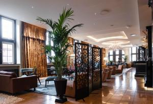 The lobby or reception area at Clarion Collection Hotel Havnekontoret