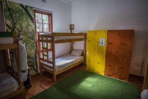 A bunk bed or bunk beds in a room at Atlantic Point Backpackers