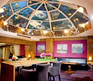 A restaurant or other place to eat at CITY Hotel Sofia