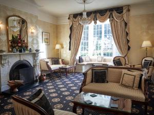 A seating area at Hempstead House Hotel & Restaurant