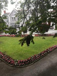 A garden outside LLwyn Country House