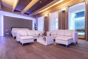 A seating area at Penzion Arigone & Privátní Wellness