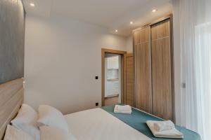 Krevet ili kreveti u jedinici u objektu Apartmani Beko