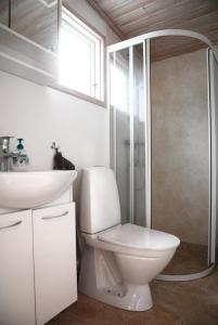 Ett badrum på Falu Vildvattenpark