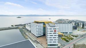 منظر Clarion Hotel Trondheim من الأعلى