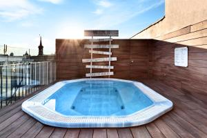 The swimming pool at or near Catalonia Atocha