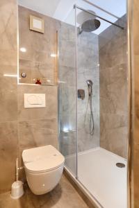A bathroom at Villa Teuta