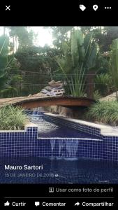 The swimming pool at or near Estancia Peti