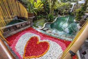 منظر المسبح في فندق أنومانا أوبود او بالجوار