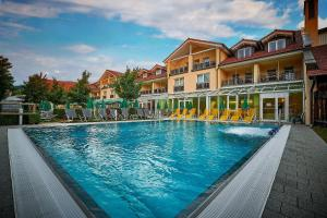 The swimming pool at or near Hotel Herzog Heinrich