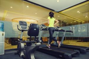 The fitness center and/or fitness facilities at Best Western Premier Tuushin Hotel
