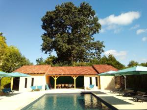 The swimming pool at or near Les Bernardies