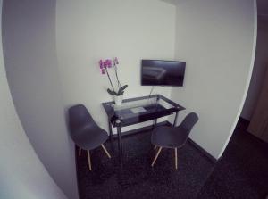 TV/Unterhaltungsangebot in der Unterkunft Gästezimmer Faut