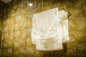 Ванная комната в Отель Вояж