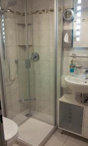 Ein Badezimmer in der Unterkunft Gästehaus Guter Stern
